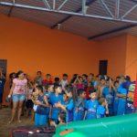 No Projeto da Associação de Moradores do Campo Nobre, crianças da região tiveram dia de festa