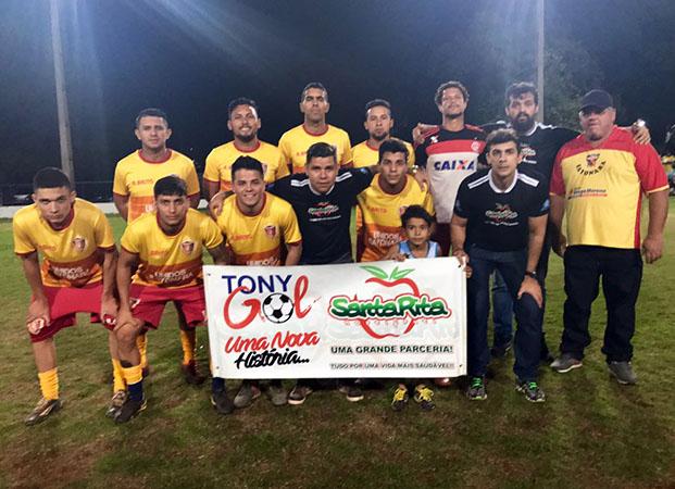 Time do Sayonara confirmou em campo que é um dos melhores do futebol amador da Capital e avançou para o segundo jogo da competição (Foto: Divulgação)