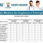 Confira a escala dos médicos plantonistas na UPA Universitário e no CRS do bairro Aero Rancho