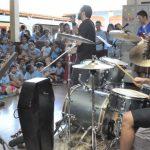 Banda de rock se apresenta na Escola da REME Pe Heitor Castoldi para combater preconceito
