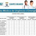 Confira os médicos plantonistas na UPA Universitário e CRS do bairro Aero Rancho