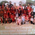 Rio Negro está pronto para manter sempre viva, a história de conquistas no futebol amador da Capital