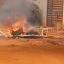 """Cansado de tanta poeira, moradores da Rua Lírio dos Campos """"interditam"""" via no bairro Aero Rancho"""